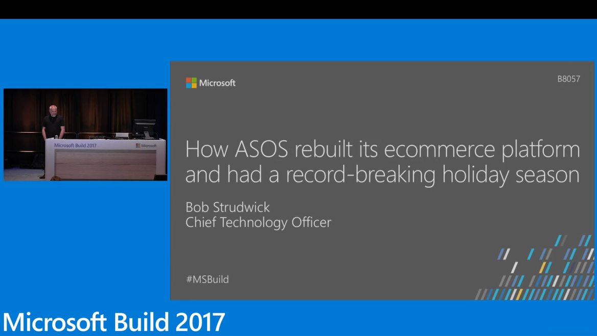Learn how ASOS built its ecommerce platform using microservices on Microsoft Azure and had a record-breaking holiday season