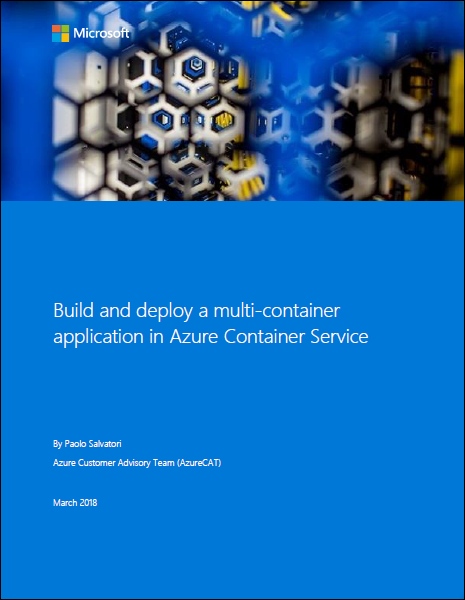 Build and deploy a multi-container application in Azure Container Service