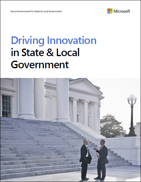 Driving innovation in state and local government
