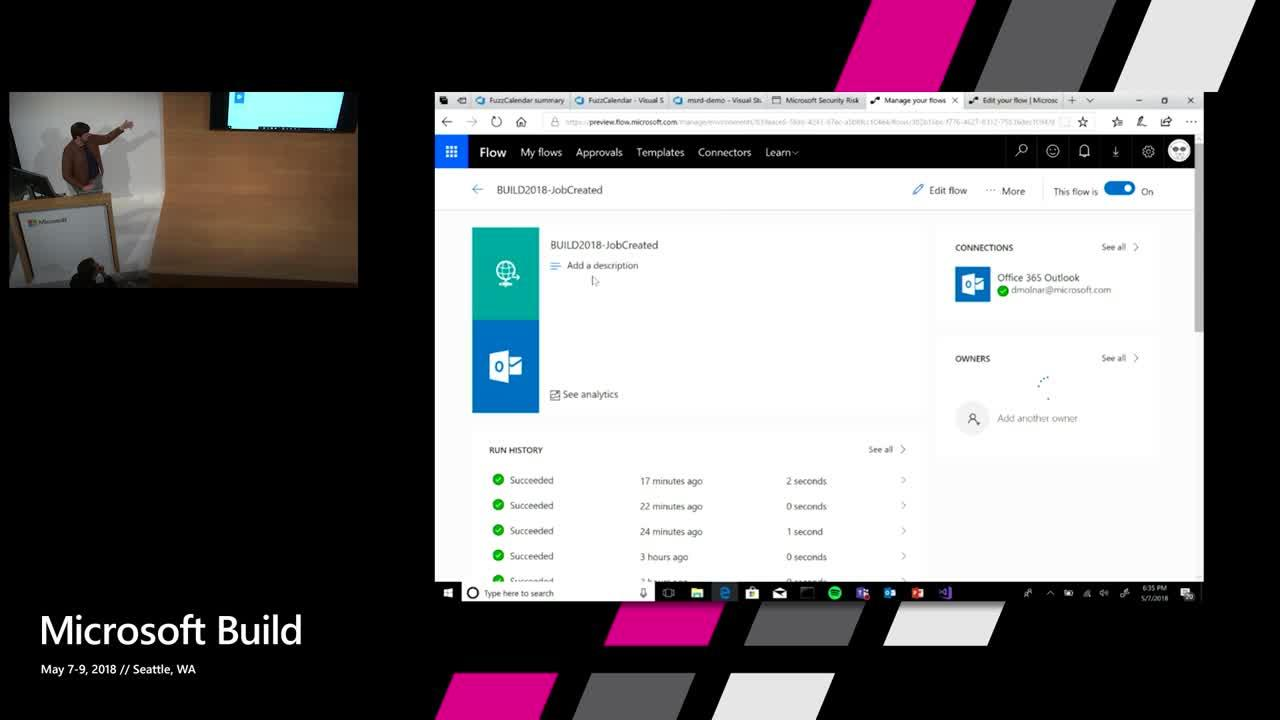 Find Security Flaws with AI using Microsoft Security Risk Detection, VSTS, and Azure