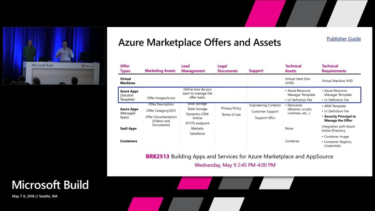 building solution templates and managed applications for the azure