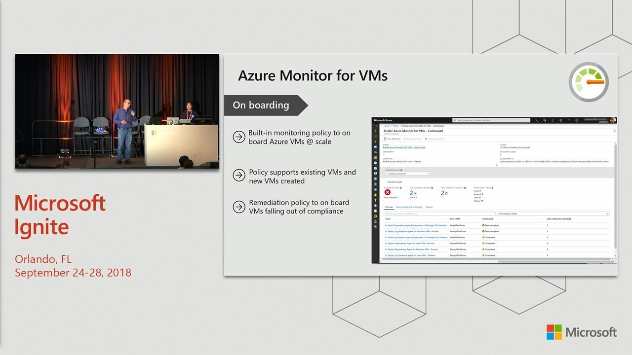 Monitor your infrastructure and analyze operational logs at scale with Azure Monitor