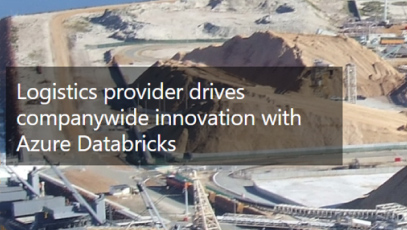 Logistics provider drives company wide innovation with Azure Databricks