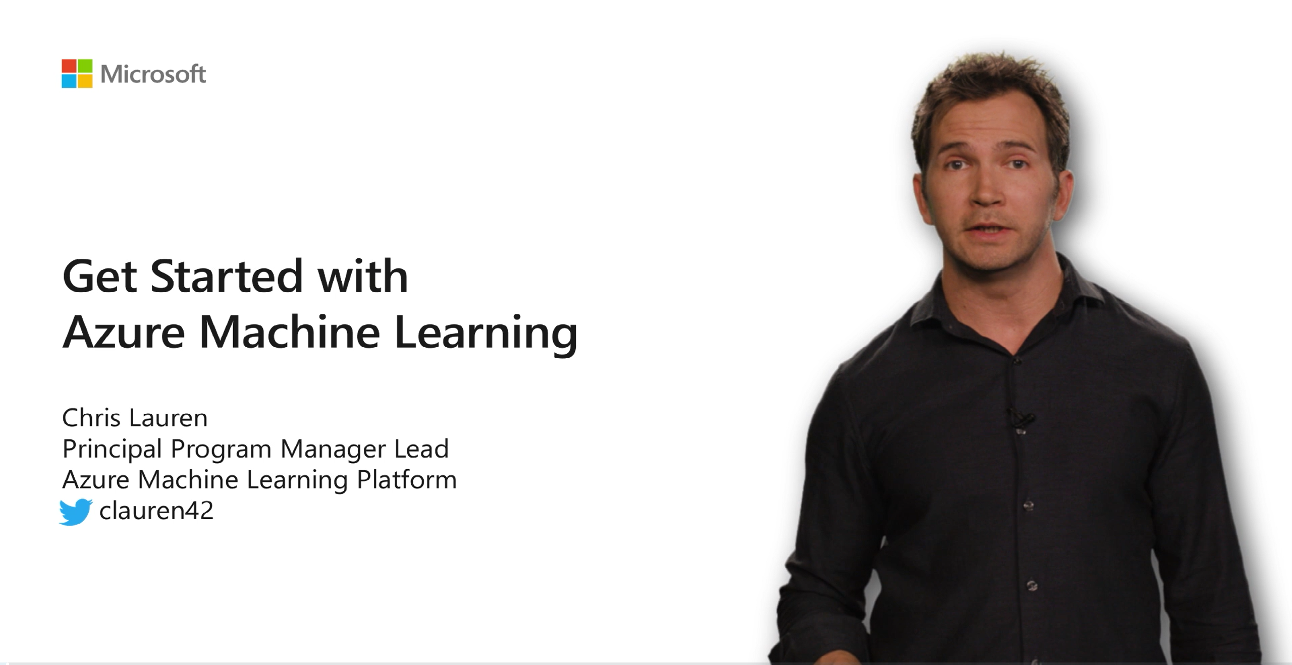 Get Started with Azure Machine Learning