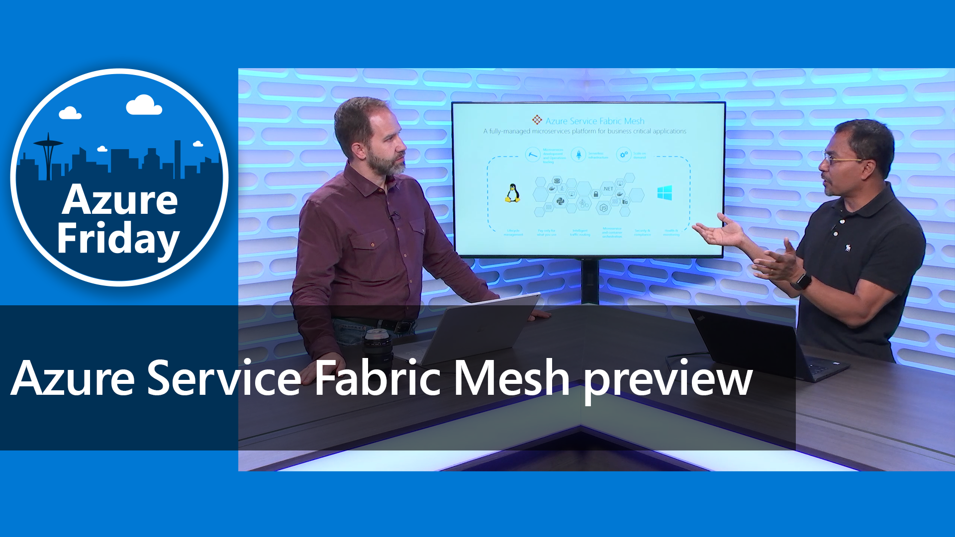 Azure Service Fabric Mesh preview