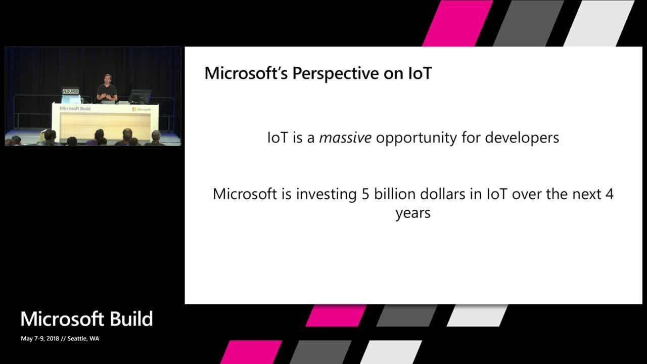 Microsoft IoT Overview, Vision and Roadmap