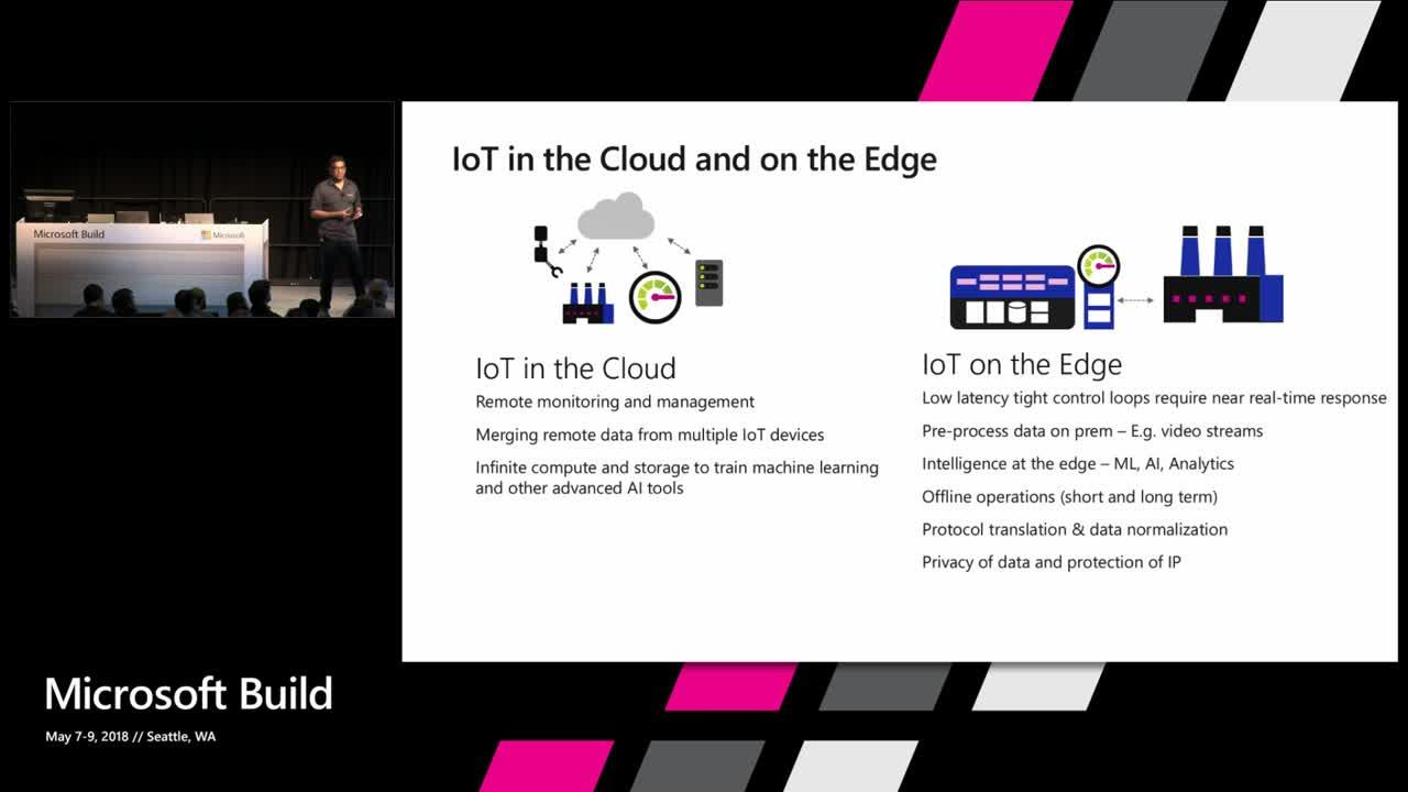 Azure IoT Edge: a breakthrough platform and service running cloud intelligence on any device