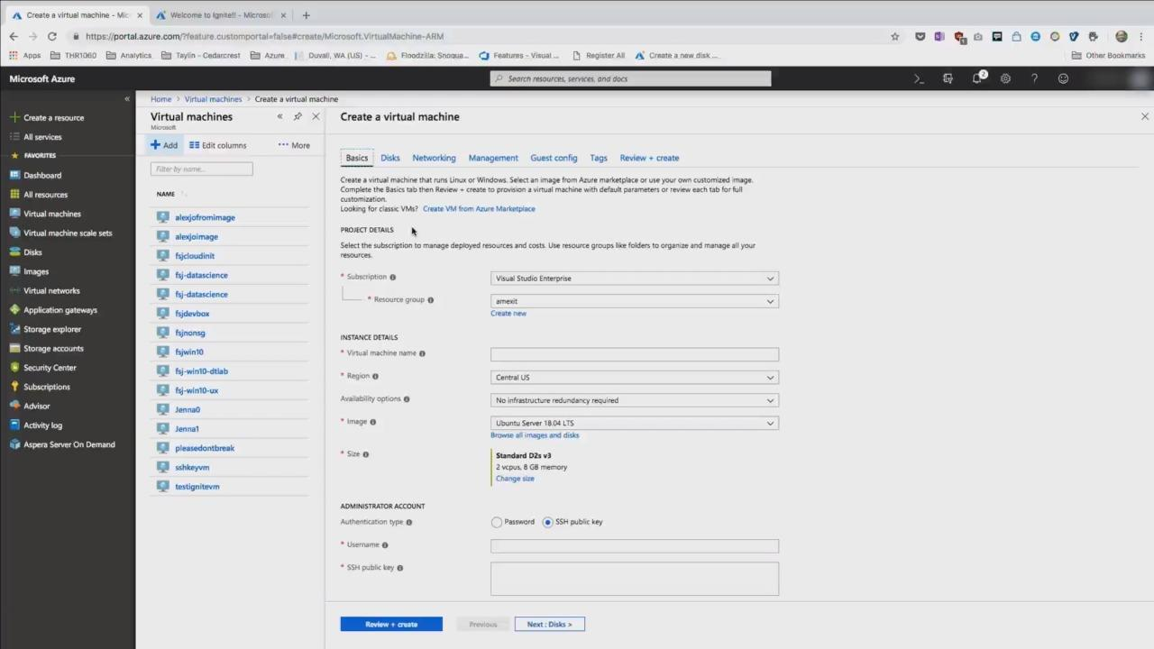 Managing your IaaS resources in the Microsoft Azure Portal: What's new in 2018