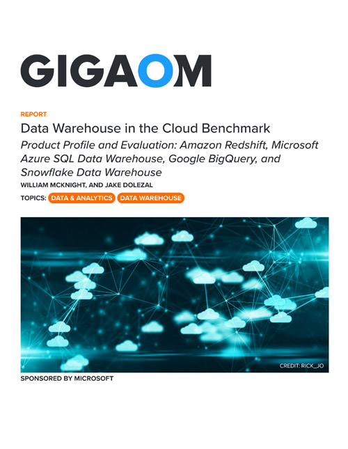 Data Warehouse in the Cloud Benchmark