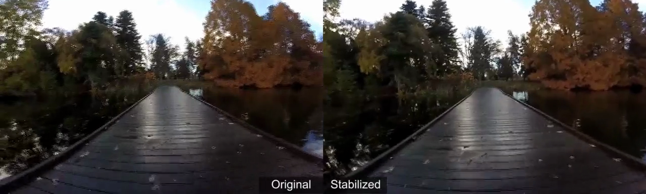 Video Stabilization Demo 1