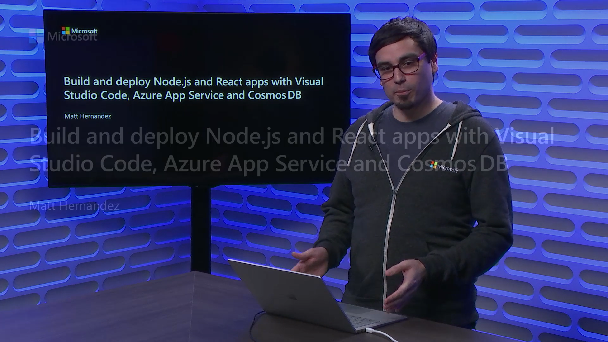 Build and deploy Node.js and React apps with Visual Studio Code, Azure App Service and Cosmos DB
