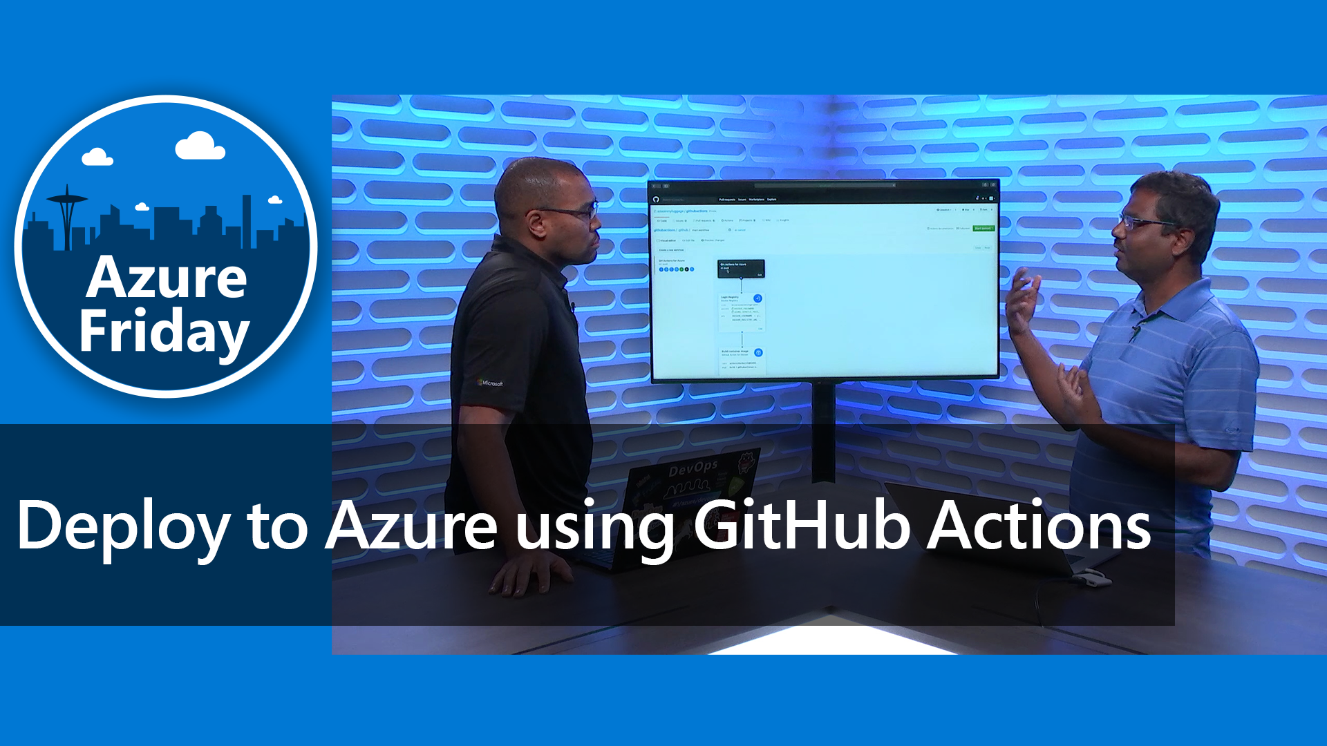 Deploy to Azure using GitHub Actions