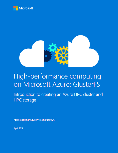 High-performance computing on Microsoft Azure: GlusterFS