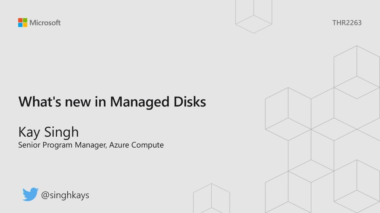 What's new in Managed Disks