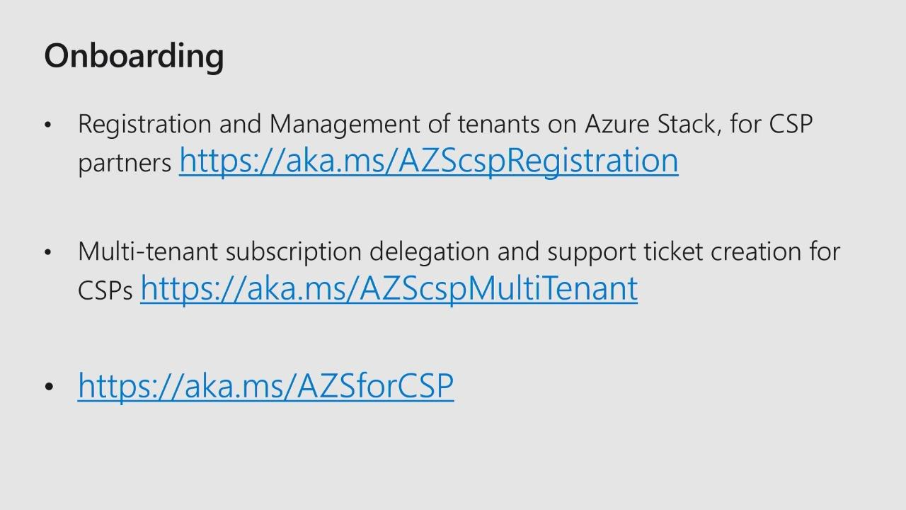 What you need to know to run Microsoft Azure Stack as a CSP