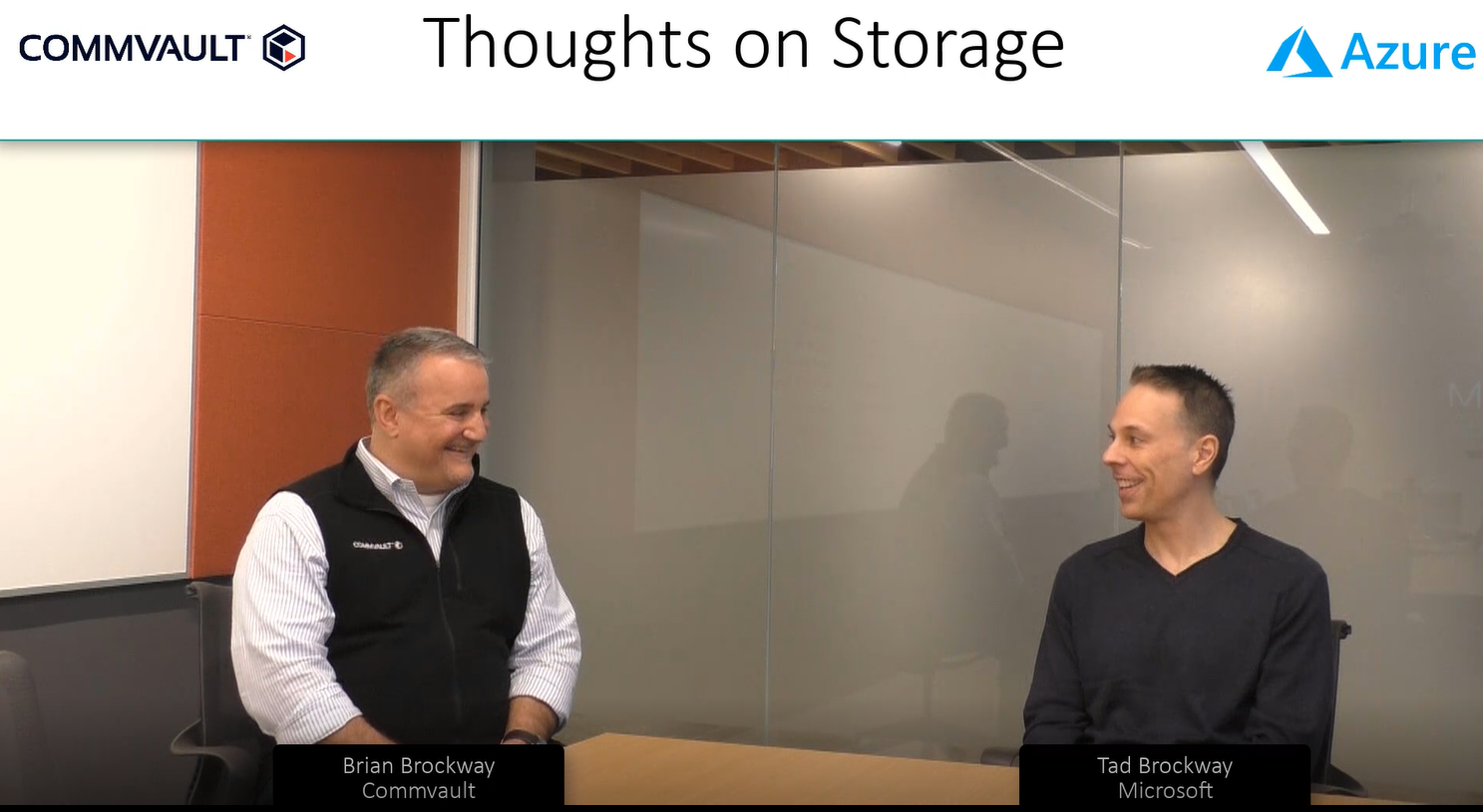 Thoughts on Storage with Commvault