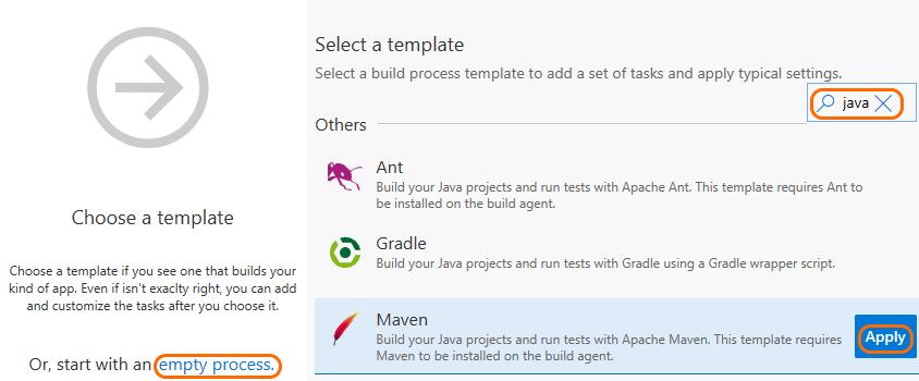 build editor new build definition