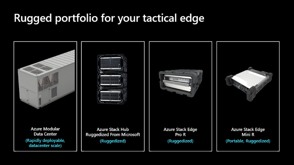 (Tactical edge devices):  Image capturing tactical edge portfolio for US Government customers.