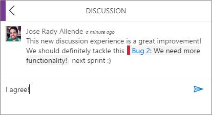 mobile discussion