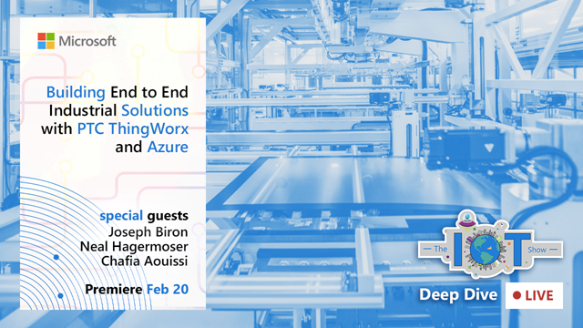 IoT Deep Dive event information