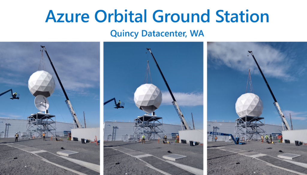Azure Orbital Ground Station Quincy Datacenter, Wa.