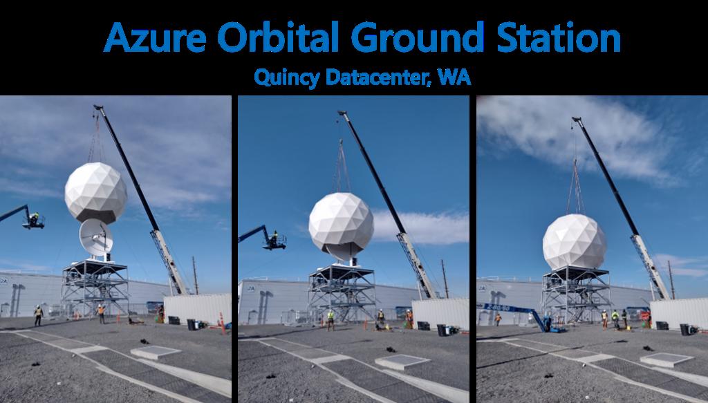 Azure Orbital Ground Station Quincy Datacenter, Wa.