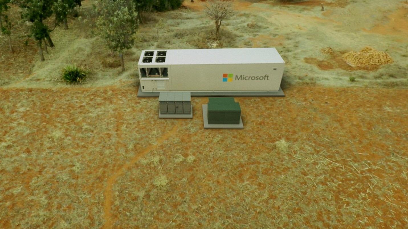 僻地での Modular Datacenter