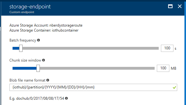 Route IoT device messages to Azure Storage with Azure IoT Hub | Blog