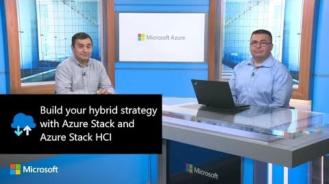 Thumbnail from Build your hybrid strategy with Azure Stack and Azure Stack HCI