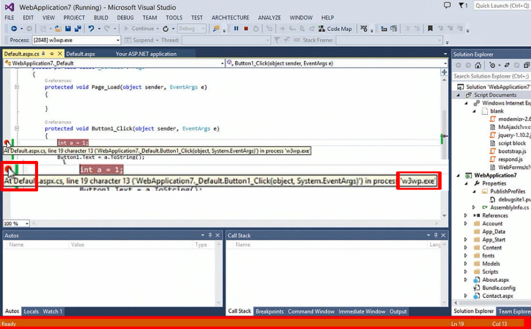 Introduction to Remote Debugging Azure Web Sites part 2