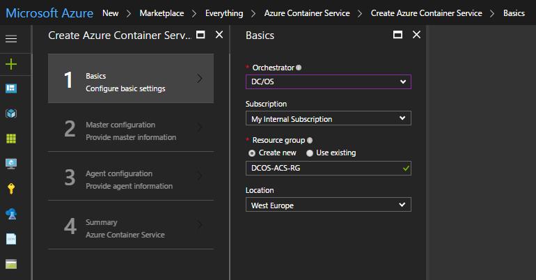 DC OS 1.9 deployment