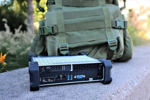 Azure Stack Edge Ruggedized backpack