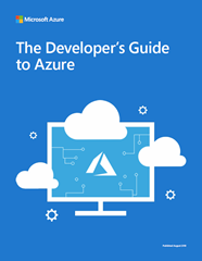 Cover image from The Developer's Guide to Azure (August 2018)