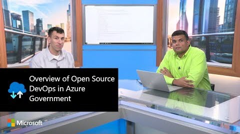Thumbnail from Overview of Open Source DevOps in Azure Government