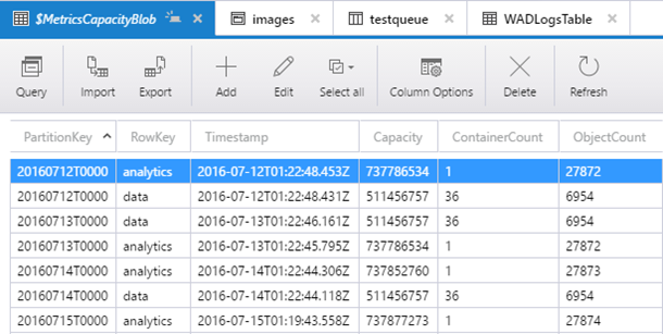 Microsoft Azure Storage Explorer: November update and summer recap