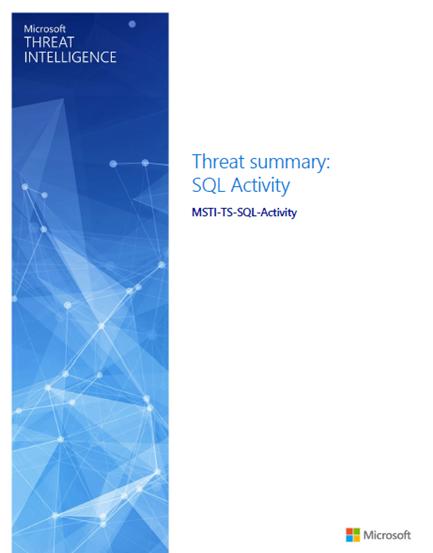Threat summary