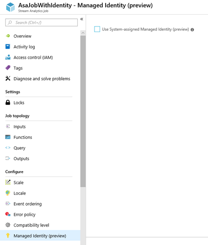Managed identities for Azure resources (formerly MSI) - 1