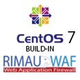 Centos 7 webserver LAMP with WAF