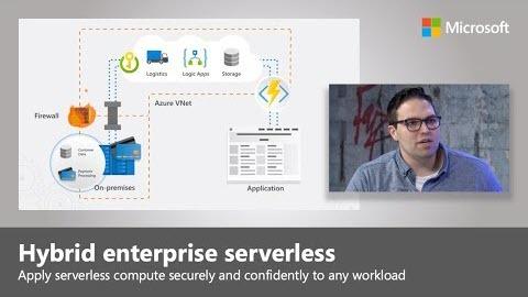 Hybrid enterprise serverless in Microsoft Azure | Microsoft Mechanics