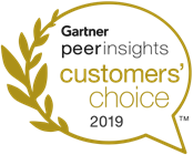 Gartner peer insights customers' choice 2019 seal
