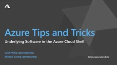 Screenshot from Learn about the underlying Software in Azure Cloud Shell video