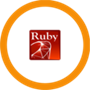Ruby 2.4 Secured Alpine Container with Antivirus