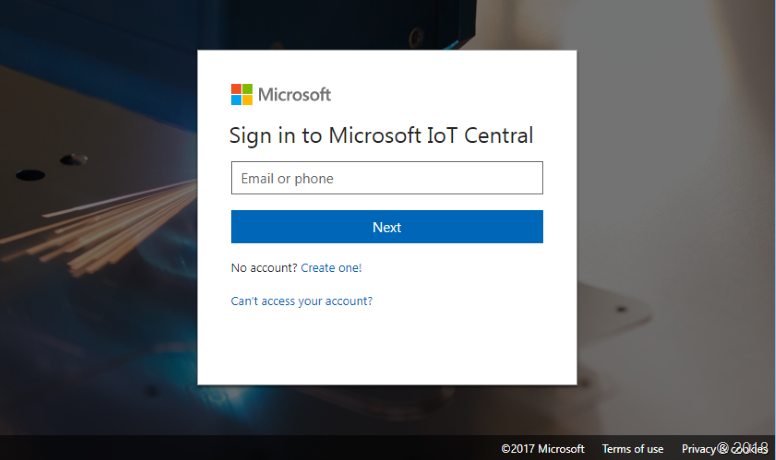Microsoft IoT Central