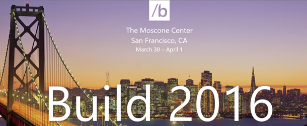 Build 2016, San Francisco