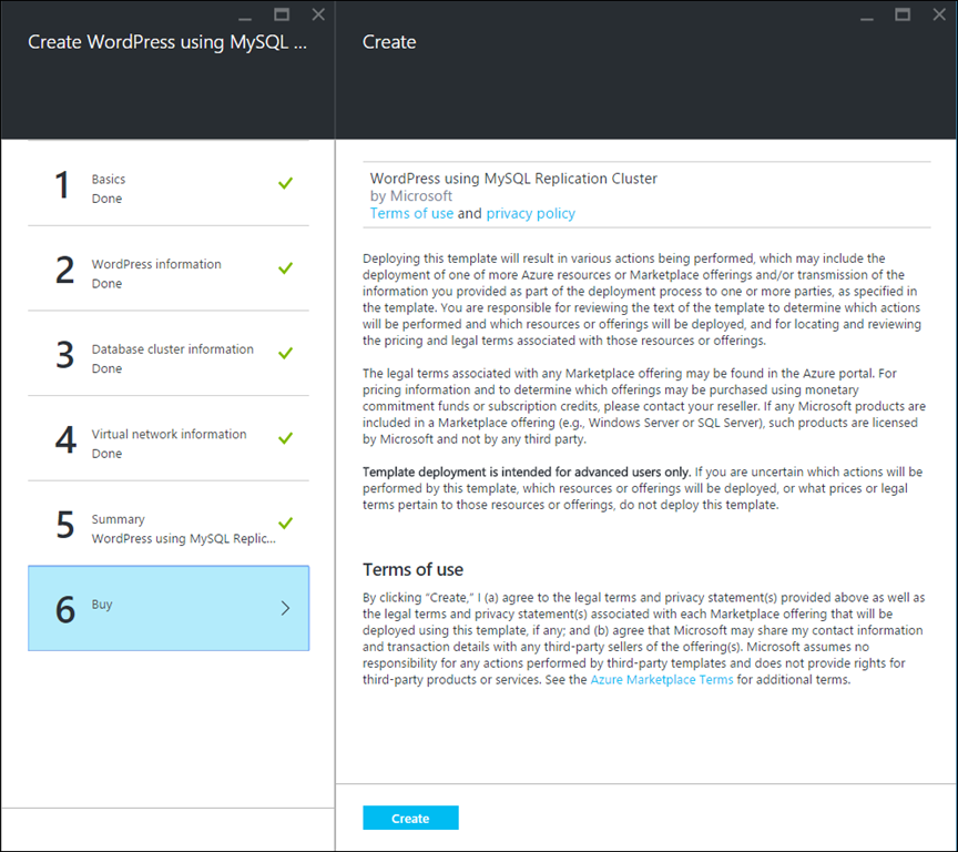 Wordpress on azure app service backed by mysql virtual machines please share your feedback to improve this template for azure app service here pronofoot35fo Images