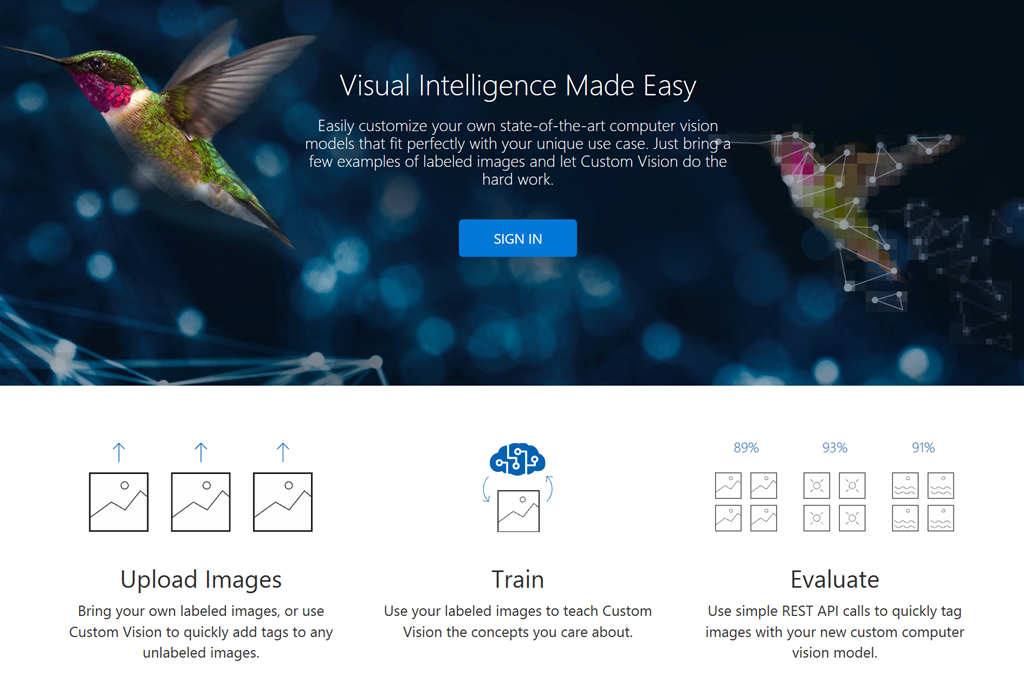 Visual Intelligence Made Easy