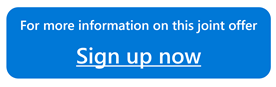 Button image to sign up for Azure and Informatica joint offer
