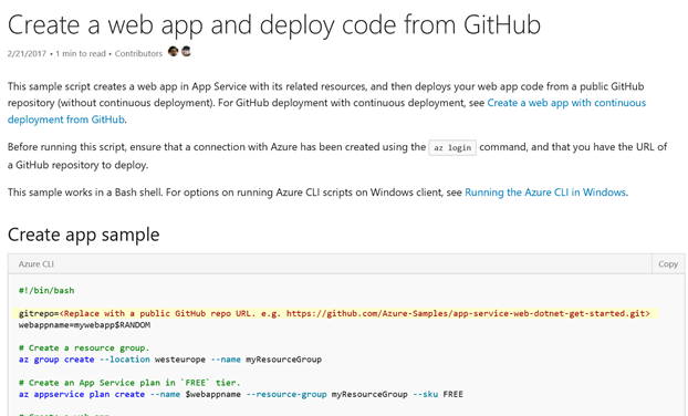 Leverage the Azure CLI with these examples