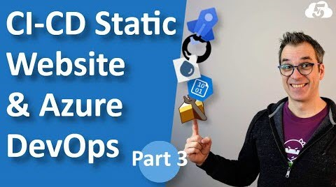 Thumbnail from How to Deploy a Static Website Into Azure Blob Storage with Azure DeOps Pipeline - part 3