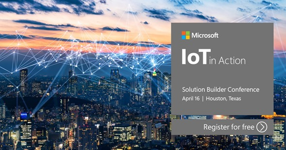 IoT in Action event in Houston.